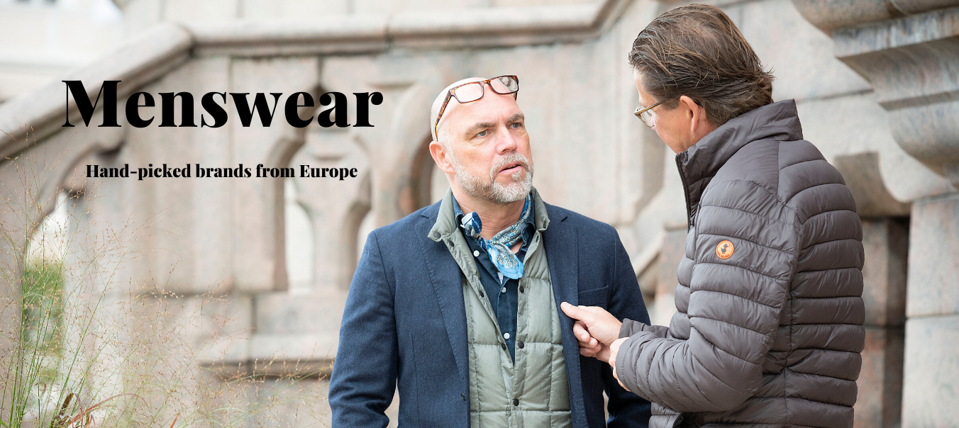 Mens wear for autumn and winter